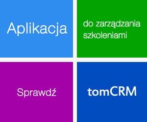 tomCRM - Oprogramowanie do zarządzania szkoleniami