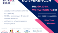 """Bezpłatne spotkanie Payroll Club """"HRodo 2018. Wpływ RODO naHR"""""""